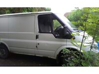 SPARES OR REPAIR - SWB FORD TRANSIT 2.0 DIESEL, RECENT NEW PARTS, MOT FAILURE