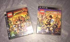 Lego Indiana Jones PS3 games x 2
