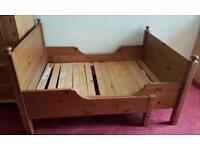 Children extendable bed