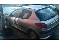 super little 1.4 Peugeot 206 car 3 doors hatchback