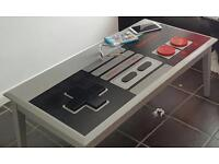 Nintendo coffee table/ games room table