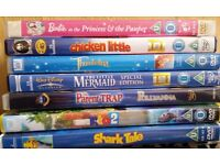7 Childrens DVDs