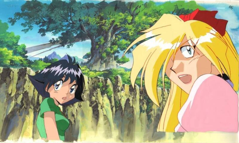 Anime Cel Slayers #184
