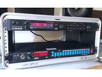 ADA MP-1 + TC Electronic G Major + 4U Gator Rack Case