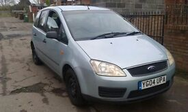 2004 Focus C Max. MOT Jan. Good runner, tyres good and verry tidy. Clutch pedal high.