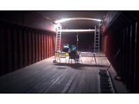 Storage space (up to 1000 Sq Ft) for rent on Boat in Fishguard Way (E16)