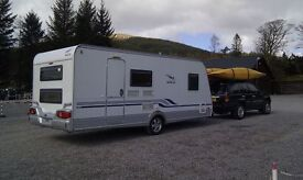 Wilk 490 KM - S3 5-Berth Caravan - 2009 (Fixed double bed and bunk beds) REDUCED