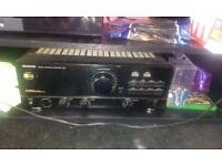 Kenwood amp with cd player and spekers