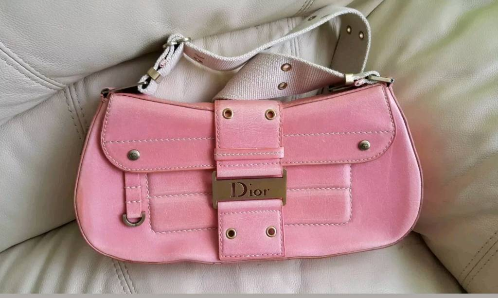 411d70ff4f055 Christian Dior vintage pink leather bag 🆓 postage | in Granton, Edinburgh  | Gumtree