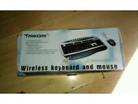 Wireless keyboard, Webcam