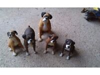 Boxer dog ornaments