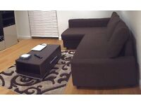 SOFA bed + RUG + Coffee table for £300