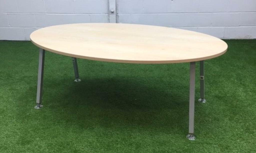 Senator Maple Oval Conference Meeting Table Cheap In Harlow Essex - Cheap meeting table