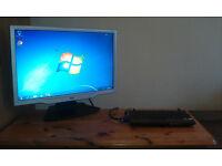 "MSI mini PC Desktop Workstation 22"" Monitor"