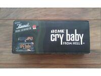 Dunlop Dime Cry Baby From Hell Dimebag Darrell Signature Guitar Wah Pedal + Original box & Manual