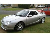 MG MGF FREESTYLE 2001 PLATINUM SILVER