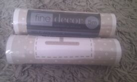 2 X Fine Decor self adhesive wallpaper border- HOME SWEET HOME