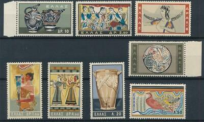 [1763] Greece arts good old set very fine MNH stamps value $42