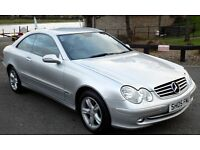 Mercedes Benz CLK 270 CDI Avantgarde Coupe