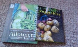 Two garden books