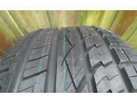 255.50.20 4x4 tyre continental