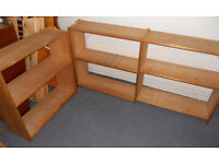 Solid Pine Modular Shelves - Bookshelves - Display