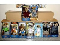 Compare the Meerkat near complete set of 9 MINT and complete figures