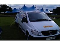 ( Reduced) Mercedes Vito Spares or repair, needs a lot of welding underneath (sils), Sorn,