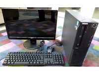 Lenovo Thinkcentre M81 Core i5 2400 3.1Ghz 4GB Ram 500GB HDD Win 7 Office TFT Monitor Mouse