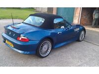 BMW Z3 1.9 WIDEBODY 12 MONTHS M.O.T