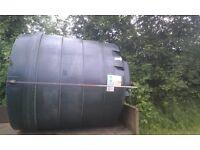 1100 gallon oil tank