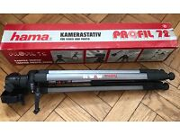 HAMA Profil 72 Camera Tripod (Boxed) - £20