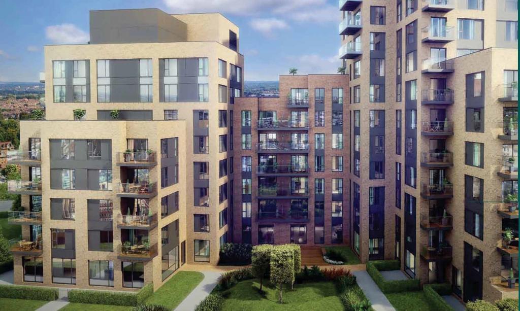 1 bedroom flat in Morello, Maraschino Apartments, Croydon CR9