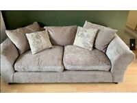 3 & 2 Seat Fabric Sofas Nearly New FREE DELIVERY 576