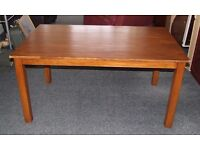 Rectangle solid wood table (chairs optional)