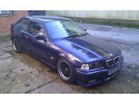 BMW E36 TI Compact M sport package basic drift mods