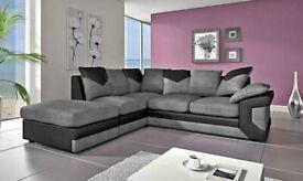 XMAS Sale on Dino Corner and 3+2 Sofa Black Grey Brown Beige