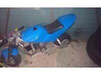 Mini moto cheap project