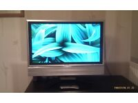 32 INCH FLAT TV. PERFECT CONDITIONS. AUX HDMI ..... PRICE 50 POUNDS