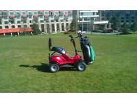 Single seat golf buggy