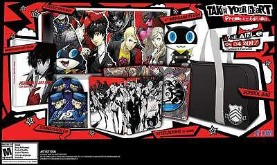 Persona 5 - PlayStation 4 Take Your Heart Premium Edition PS4 New PlayStation 4,