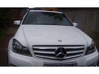 Mercedes C250 AMG Sport CDI Blueff-CY A in White