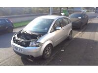 audi a2 1.4 petrol breaking for parts !!!