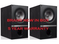 KEF Q300 Main / Surround Stereo Speakers Brand New & Boxed with a 5 year KEF warranty