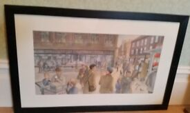 large original painting of Newcastle by Endean