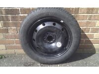 Spare rim with tyre for Renault Laguna or similar vehicle. 205/55/R16
