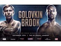 Kell Brook v GGG tickets available