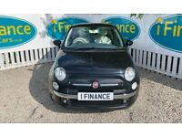 CAN'T GET CREDIT? CALL US! Fiat 500 1.2 Lounge (s/s), 2015, Manual - £200 DEPOSIT, £43 PER WEEK