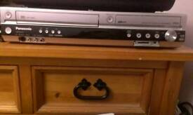 Panasonic DVD, vhs recorder
