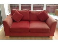 FREE!!! Red 2 Seater Sofa